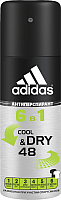Антиперспирант-спрей Adidas Cool & Dry 6 в 1 48ч для мужчин (150мл) -