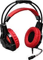 Наушники-гарнитура Defender Lester / 64541 (черный/красный) -