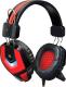 Наушники-гарнитура Defender Ridley / 64542 (черный/красный) -
