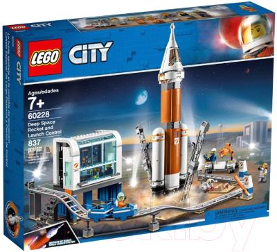 Конструктор Lego City Космическая ракета и пункт управления запуском / 60228