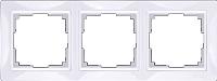 Рамка для выключателя Werkel Basic WL03-Frame-03 / a036627 (белый) -