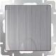 Розетка Werkel WL02-SKGSC-01-IP44 / a040410 (глянцевый никель) -