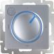 Терморегулятор для теплого пола Werkel WL06-40-01 / a042013 (серебристый) -