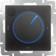 Терморегулятор для теплого пола Werkel WL08-40-01 (черный) -