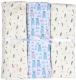 Набор пеленок детских Alis Мальчик 90x100 (3шт, кулирка) -