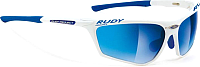 Очки солнцезащитные Rudy Project Zyon Racing / SN220724R1C (White Pearl/Laser Blue) -