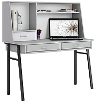 Письменный стол Polini Kids Aviv 1455 (серый/серый/белый) -