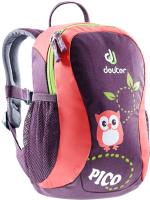 Детский рюкзак Deuter Pico / 36043 5534 (Plum/Coral) -