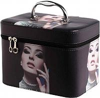 Кейс для косметики MONAMI CX7514-1 (черный) -