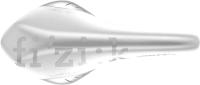 Сиденье велосипеда Fizik Antares VS / 7078SXSA29787 (белый/серебристый) -