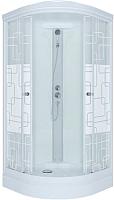 Душевая кабина Triton Стандарт А Квадраты с душевым набором ДН4 90x90 -