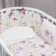 Комплект постельный в кроватку Perina Акварель Oval / АО6 -