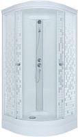 Душевая кабина Triton Стандарт А Мозаика с душевым набором ДН4 100x100 -