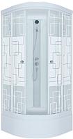 Душевая кабина Triton Стандарт В Квадраты с душевым набором ДН4 100x100 -