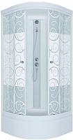 Душевая кабина Triton Стандарт В Узоры с душевым набором ДН4 100x100 -
