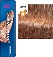 Крем-краска для волос Wella Professionals Koleston Perfect ME+ 8/07 (платан) -
