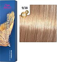Крем-краска для волос Wella Professionals Koleston Perfect ME+ 9/38 (cветлая сепия) -