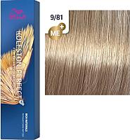 Крем-краска для волос Wella Professionals Koleston Perfect ME+ 9/81 (сливочный камео) -