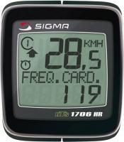 Велокомпьютер Sigma BC 1706HR DTS -
