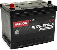 Автомобильный аккумулятор Patron Asia PB75-570LA (75 А/ч) -