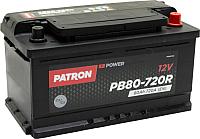Автомобильный аккумулятор Patron Power PB80-720R (80 А/ч) -