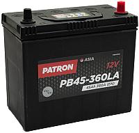 Автомобильный аккумулятор Patron Asia PB45-360LA (45 А/ч) -