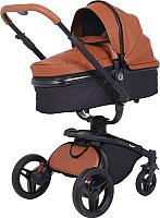 Детская универсальная коляска Rant Nest 2 в 1 / RA889 (коричневый) -