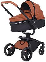 Детская универсальная коляска Rant Nest 3 в 1 / RA891 (коричневый) -