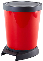 Мусорное ведро Алеана Алеана 124066 (красный) -