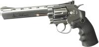 Револьвер пневматический ASG Dan Wesson 6 / 16559 (серебристый) -