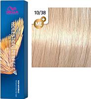Крем-краска для волос Wella Professionals Koleston Perfect ME+ 10/38 (пудровый экрю) -