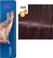 Крем-краска для волос Wella Professionals Koleston Perfect ME+ 55/0 (светло-коричневый интенсивный натуральный) -