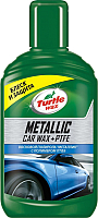 Полироль для кузова Turtle Wax Metallic PTFE с тефлоном / 52889 (300мл) -