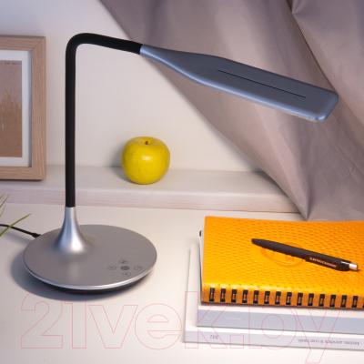 Настольная лампа Евросвет 80422/1 (серебристый)