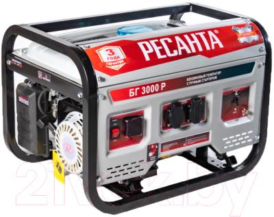 Бензиновый генератор Ресанта БГ-3000Р