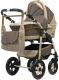 Детская универсальная коляска Bart-plast Fenix Pcof 3 в 1 (05/коричневый/бежевый) -
