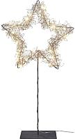 Светодиодная фигура 3D Gasper Звезда на подставке / 8519500-99 (золото) -
