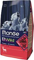 Корм для собак Monge BWild Puppy All Breeds Deer (15кг) -