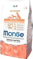 Корм для собак Monge Speciality Puppy&Junior All Breeds Salmon&Rice (2.5кг) -