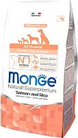 Корм для собак Monge Speciality Puppy&Junior All Breeds Salmon&Rice (15кг) -