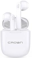 Беспроводные наушники Crown CMTWS-5002 (белый) -