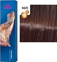 Крем-краска для волос Wella Professionals Koleston Perfect ME+ 66/0 (темный блонд интенсивный натуральный) -