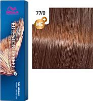 Крем-краска для волос Wella Professionals Koleston Perfect ME+ 77/0 (блонд интенсивный натуральный) -
