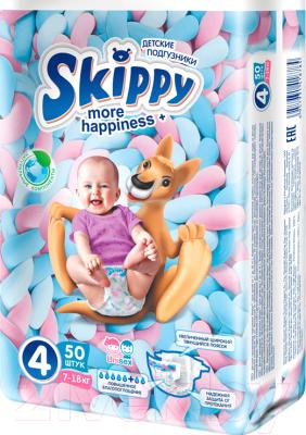 Подгузники детские Skippy More Happiness Plus 4 (50шт)