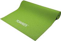 Коврик для йоги и фитнеса Torres Optima 6 / YL10036 (зеленый) -