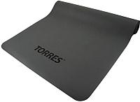 Коврик для йоги и фитнеса Torres Pro / YL10103 (серый) -