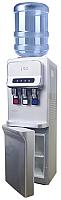 Кулер для воды Ecotronic V31-LCE со шкафчиком (серебристый) -