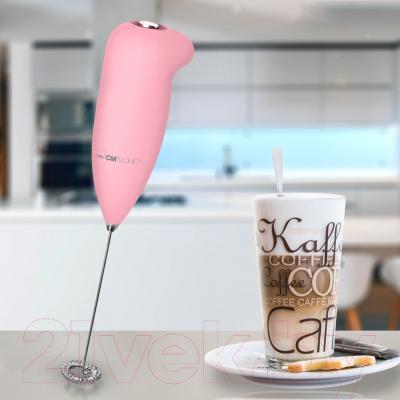 Вспениватель молока Clatronic MS 3089 (розовый)