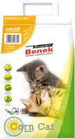 Наполнитель для туалета Super Benek Corn Cat натуральный (7л) -