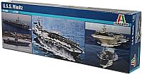 Сборная модель Italeri Американский авианосец U.S.S. Nimitz CVN-68 1:720 / 0503 -